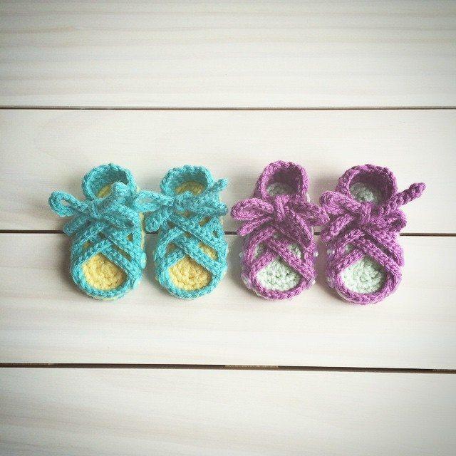 raimarie16 crochet baby sandals