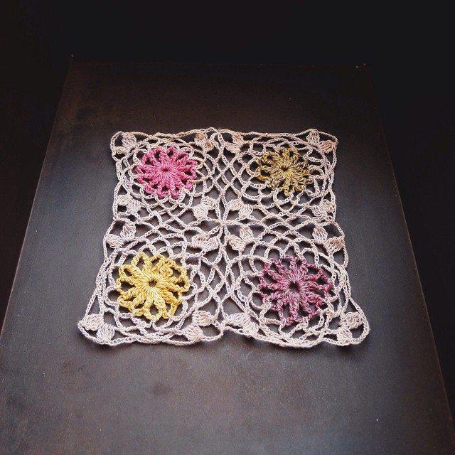 rawrustic crochet lace scarf