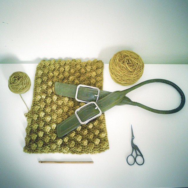 rawrustic crochet purse