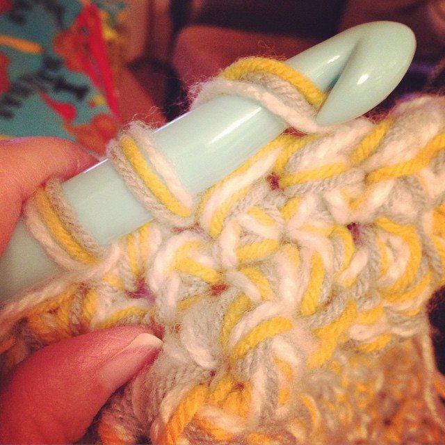 redrocker9 chunky crochet