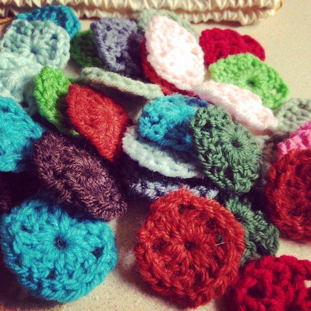 redrocker9 crochet tiny motifs