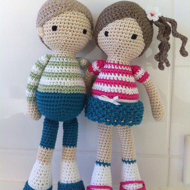Crocheting Dolls : The Imaginative Crochet Dolls by RicePuddingBaby