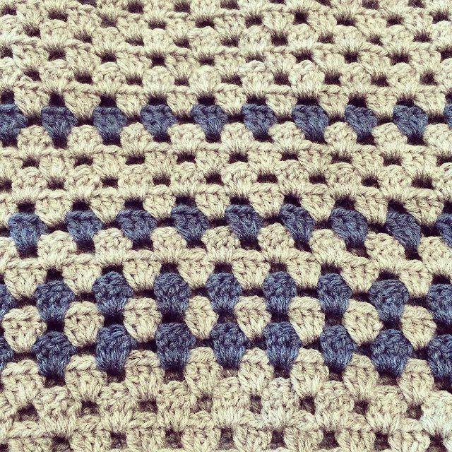 stelcrochet crochet granny blanket
