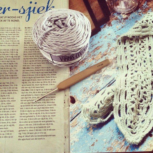 stelcrochet crochet scarf wip