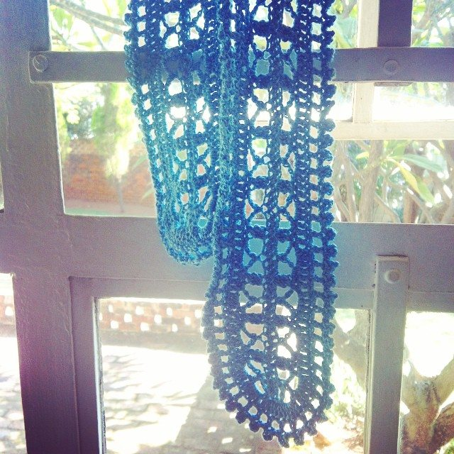 stephaniedavies crochet scarf