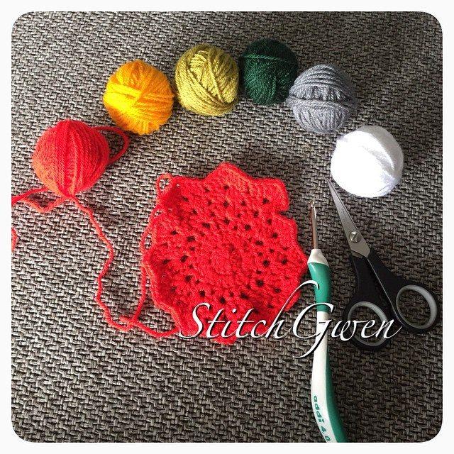 stitchgwen crochet star blanket