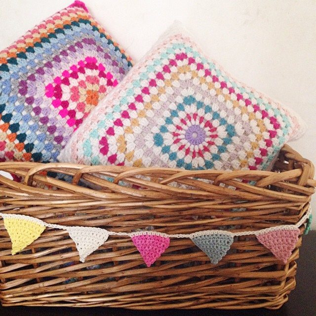 sweet_sharna crochet bunting