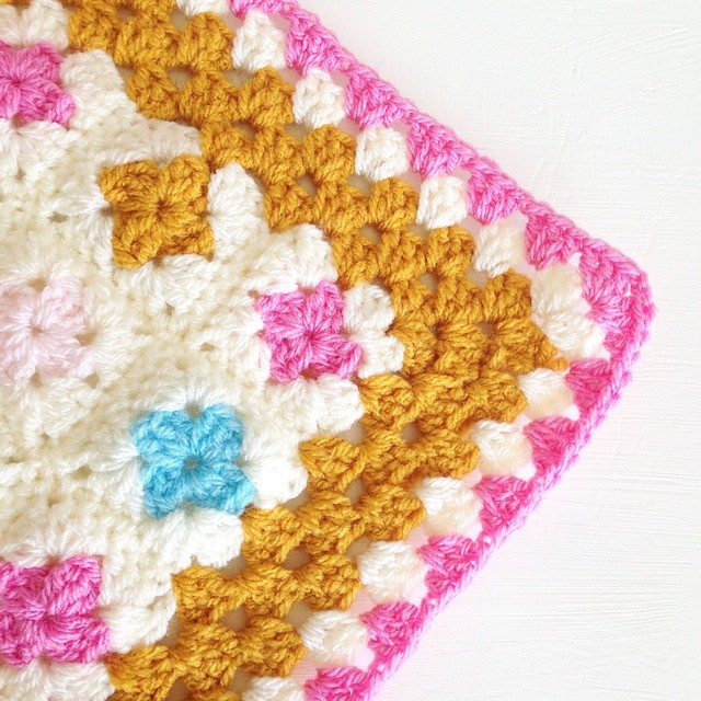 sweet_sharna crochet square edge