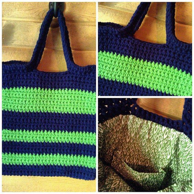 theblackandwhitelist crochet purse