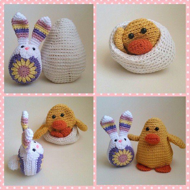 thegirllovesyarn easter crochet