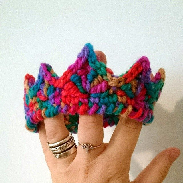 thehopeanomaly crochet crown