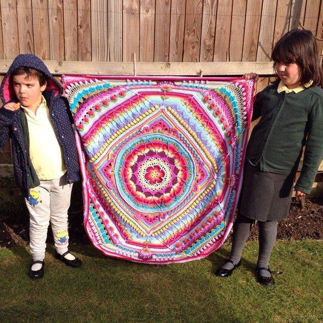 tintocktap crochet sophie blanket