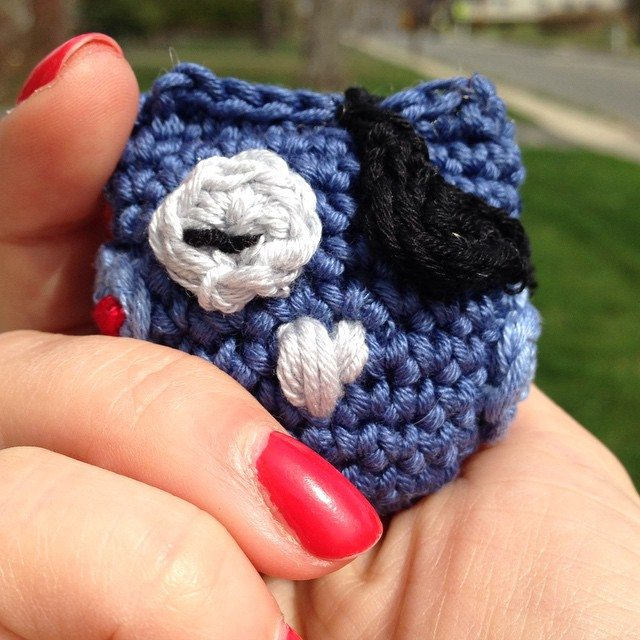 twoplus crochet owl