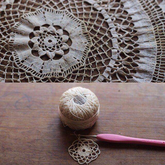 woolyana crochet doily