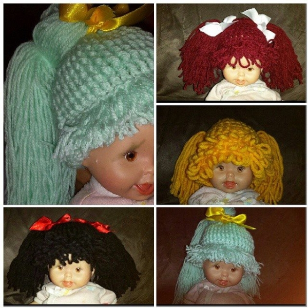 above_rubys crochet doll hair