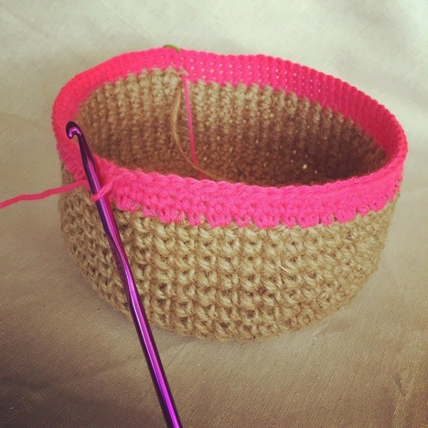 amimami10 crochet basket