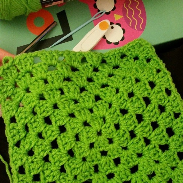 andreajeanl crochet granny square
