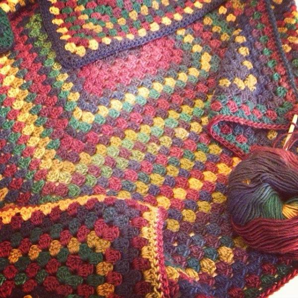 bethshananne crochet granny blanket
