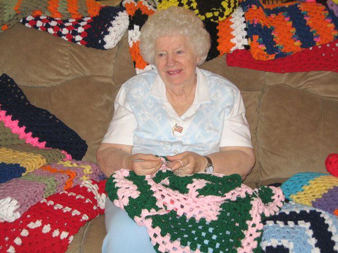 blind crochet