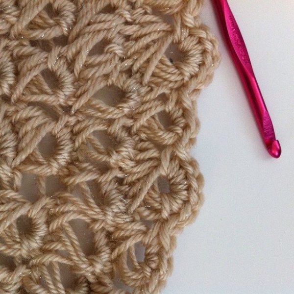 broomstick lace crochet guide