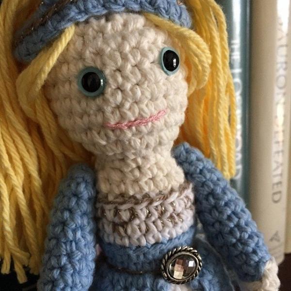 cartazon crochet doll