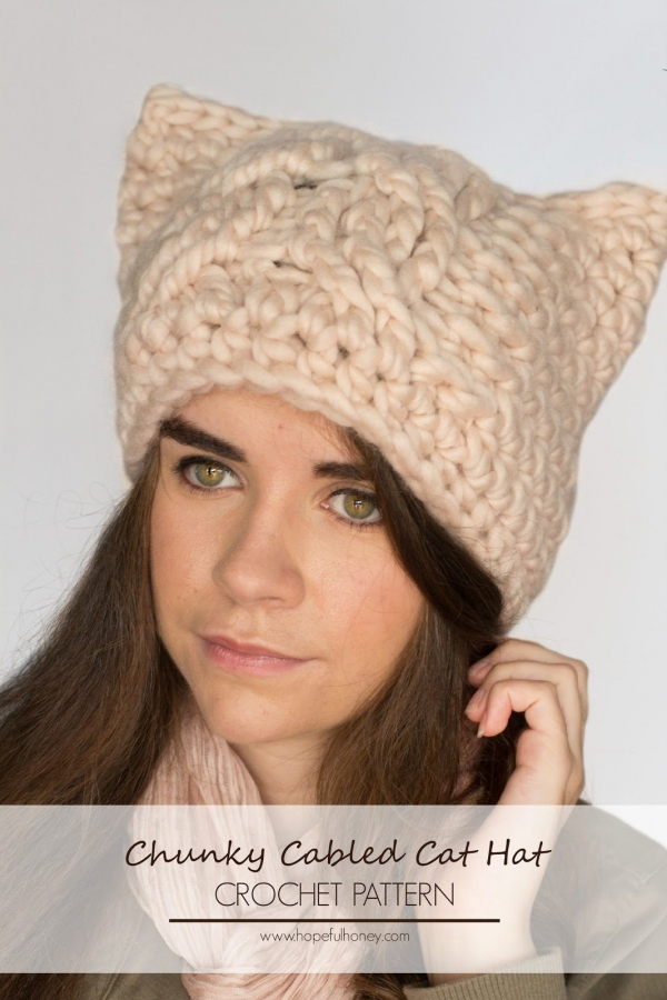 Crochet Pattern Hat Cat : New Crochet Patterns and More Crafty Link Love