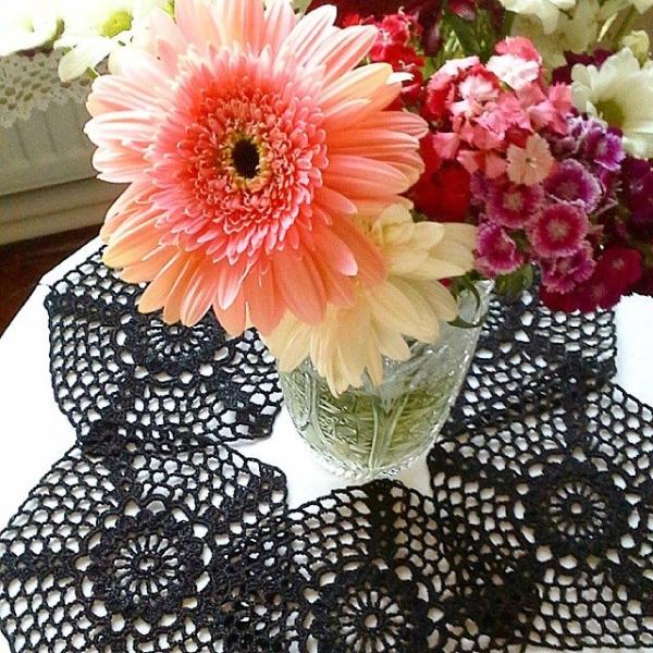ceyhan65 crochet coaster doily