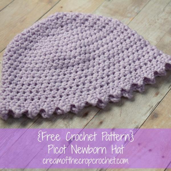 crochet baby hat free pattern