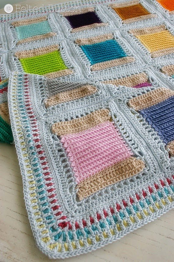 42 New Crochet Patterns, 11 Examples of Crochet Art and More Link Love ...