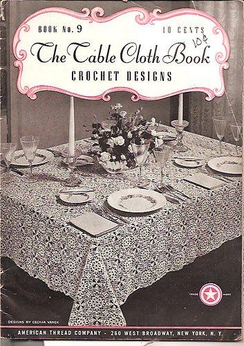 crochet book 1940