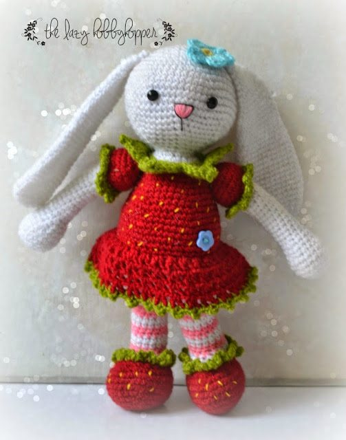 Free Crochet Pattern For Bunny Pin : Bunny Crochet Patterns Pictures to pin on Pinterest