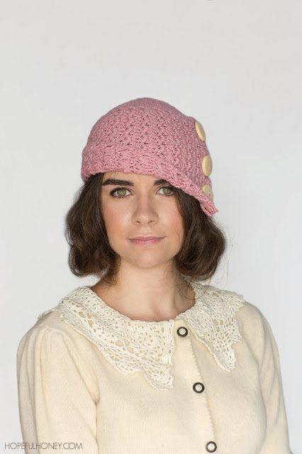 Haak cloche hoed