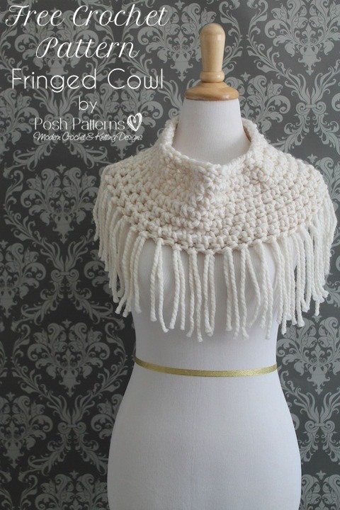 Free Cowl Pattern To Crochet : 100+ Free 2015 Crochet Patterns