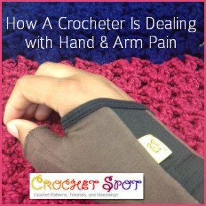 crochet hand pain