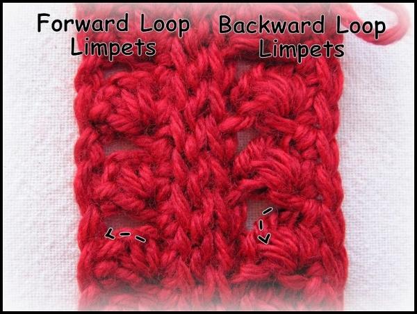 crochet limpet stitch