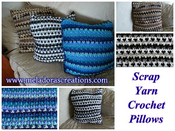 crochet pillow free pattern