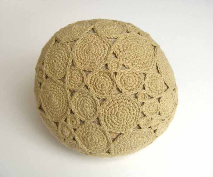 crochet rock with twine