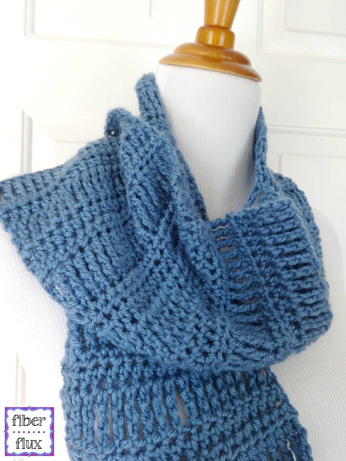 2015 Crochet Patterns : crochet scarf free pattern