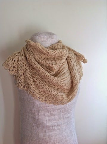 crochet shawl patter