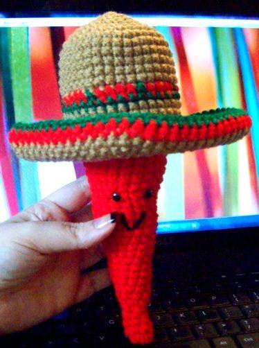 crochet sombrero