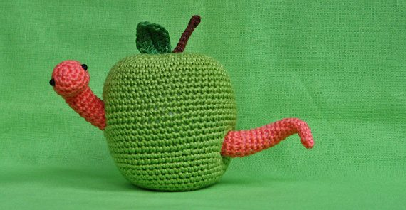crochet worm