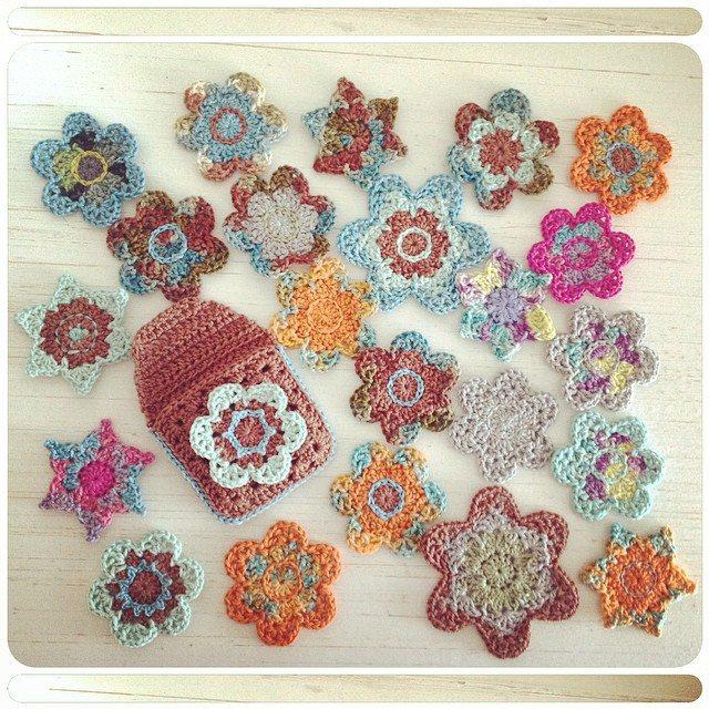crochetinpaternoster crochet flowers
