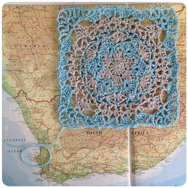 crochetinpaternoster crochet square