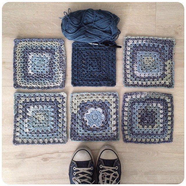 crochetinpaternoster crochet squares