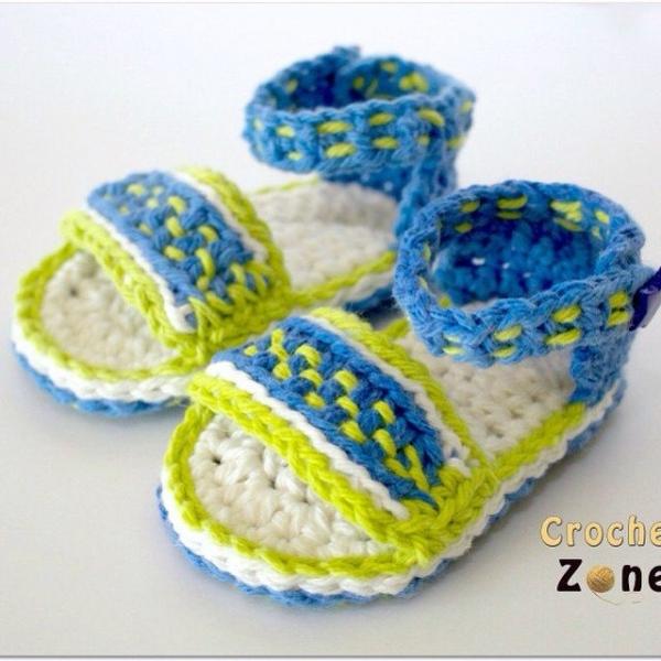 crochetzoneblog crochet sandals