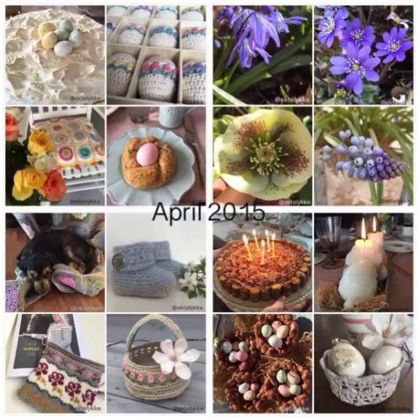 ektellykke crochet collage