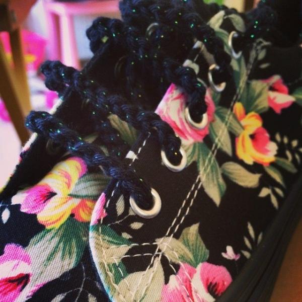elenoudi crochet shoelaces