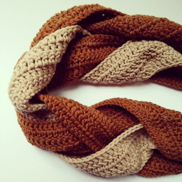 flamingpot braided crochet