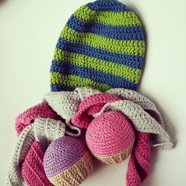 flamingpot crochet kids beanies