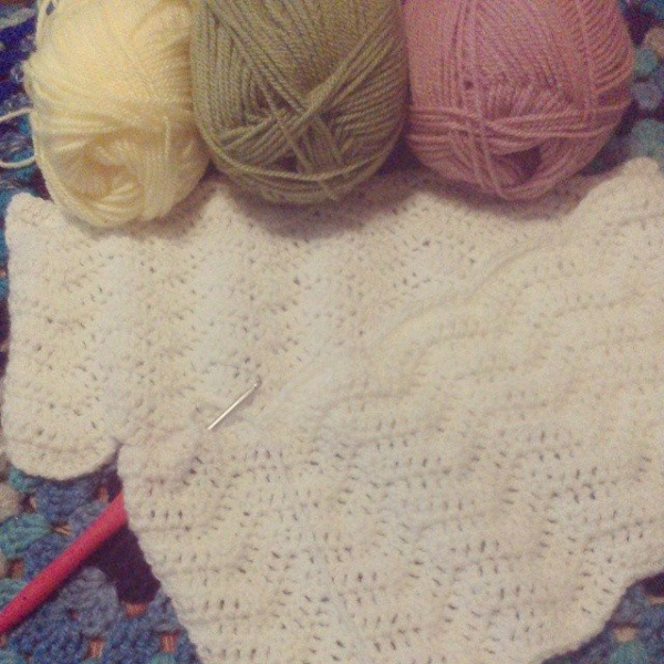 forestflowerdesigns crochet baby blanket
